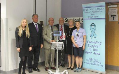Presentation at the Princess Royal Hospital, Orpington