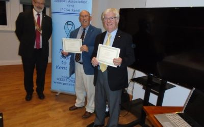 Prostate Cancer Awareness Presentation at Broadstairs