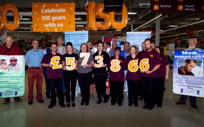 """Charity of the Year"" Presentation at  Sainsbury's Westwood Cross"