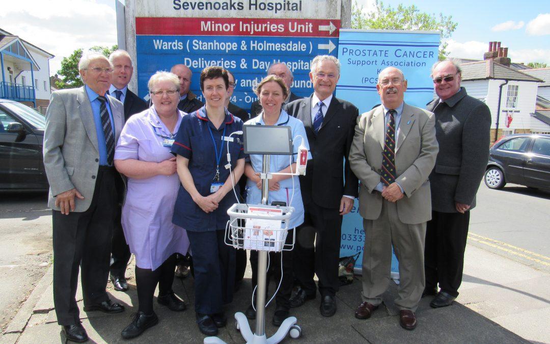 Presentation at Sevenoaks Hospital