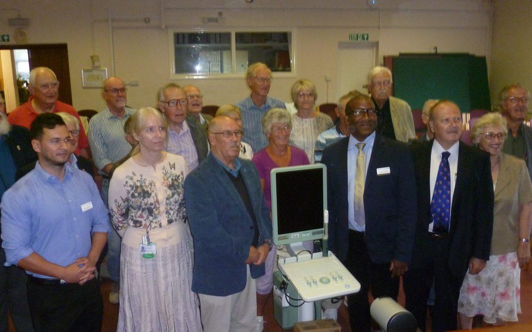 Presentation at Kent and Canterbury Hospital