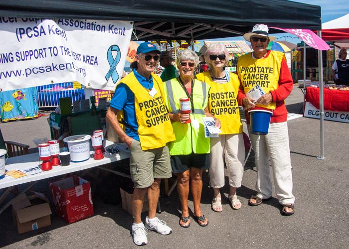 Cancer Awareness Day at Herne Bay