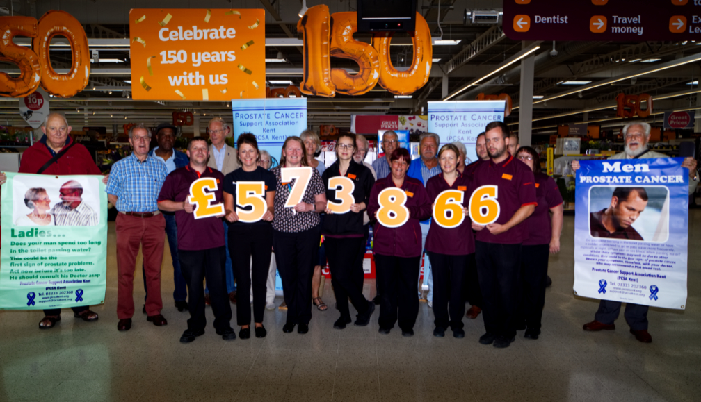 """""""Charity of the Year"""" Presentation at  Sainsbury's Westwood Cross"""